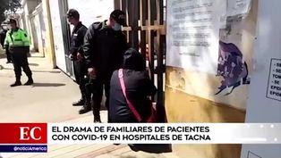 Tacna: pobladores suplican a hospitales por información de sus seres queridos