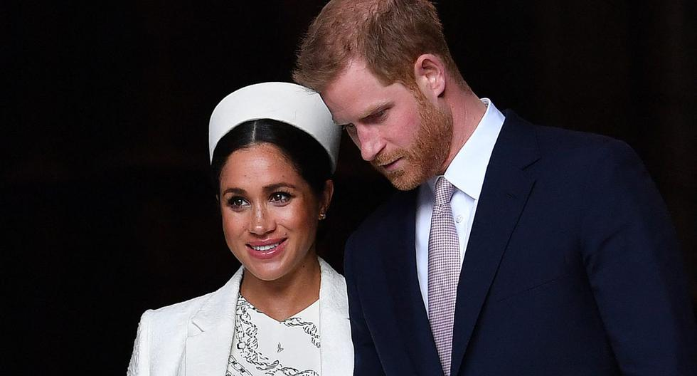 Imagen de Meghan de Sussex y Enrique de Sussex. (Foto: AFP)
