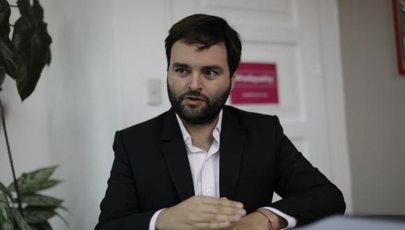Alberto de Belaunde, congresista del Partido Morado. (GEC)