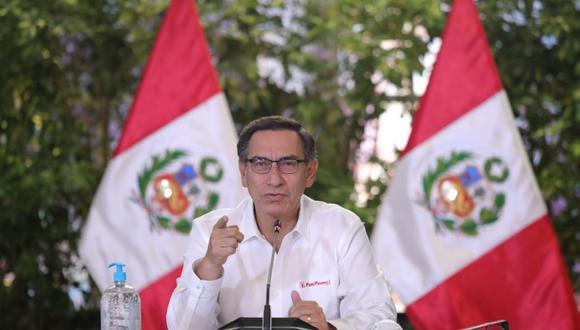 El jefe de Estado estará acompañado por integrantes del gabinete ministerial. (Foto: Presidencia Perú)
