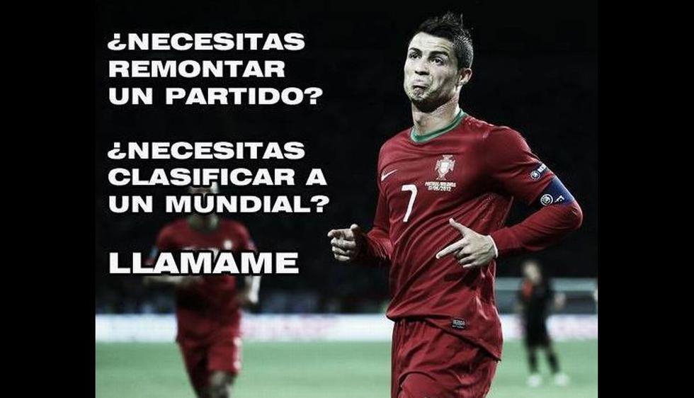 Pocos creían en que Cristiano Ronaldo iba a llevar de la mano a Portugal al Mundial Brasil 2014. (Internet)