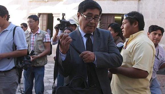 Miguel Cabrera busca que su hijo y Rosario no estén cara a cara ante fiscal. (Heiner Aparicio)