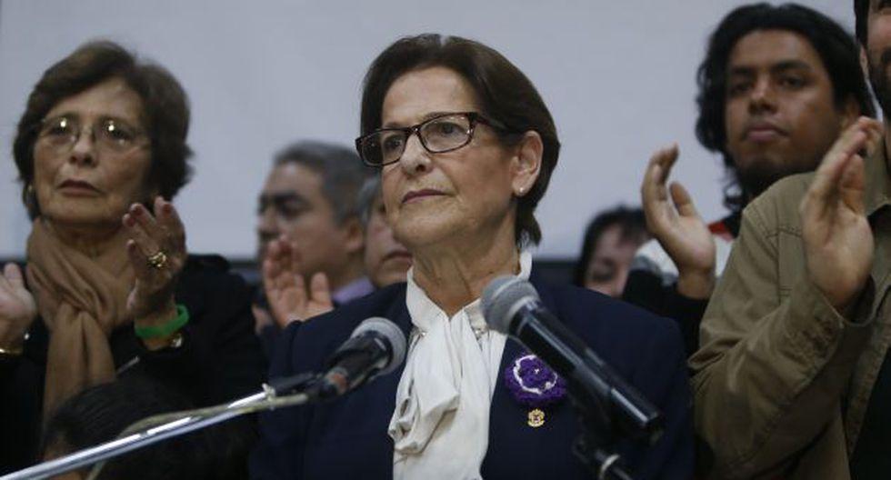 Susana Villarán anunció que continuará en la política pese a la derrota de hoy. (Perú21)
