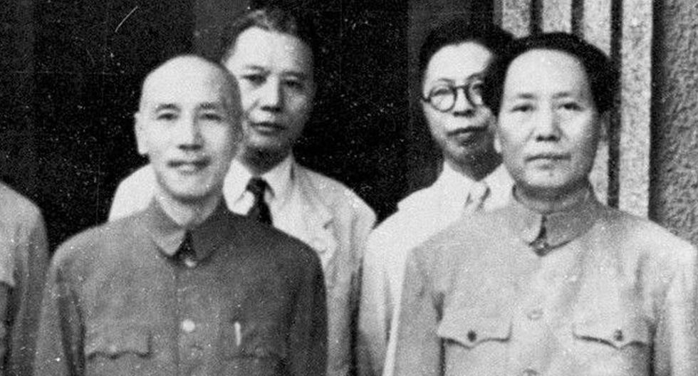 El nacionalista chino Chiang Kai-shek (izquierda) dirigió durante 47 años, con diversos cargos, China y luego Taiwán, donde se refugió en 1949. (Foto: AFP)