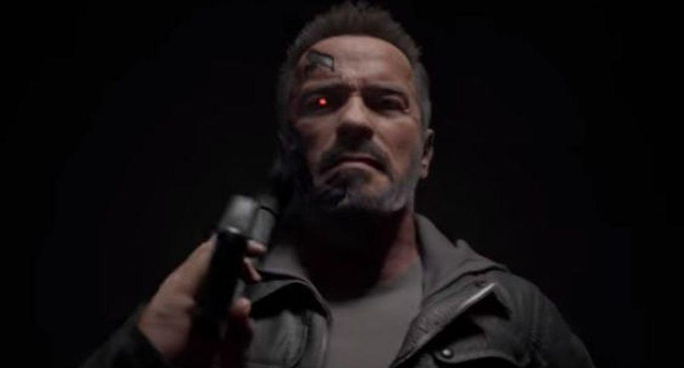 """Arnold Schwarzenegger será peleador en su personaje de Terminator en """"Mortal Kombat 11"""". (Imagen: Mortal Kombat)"""