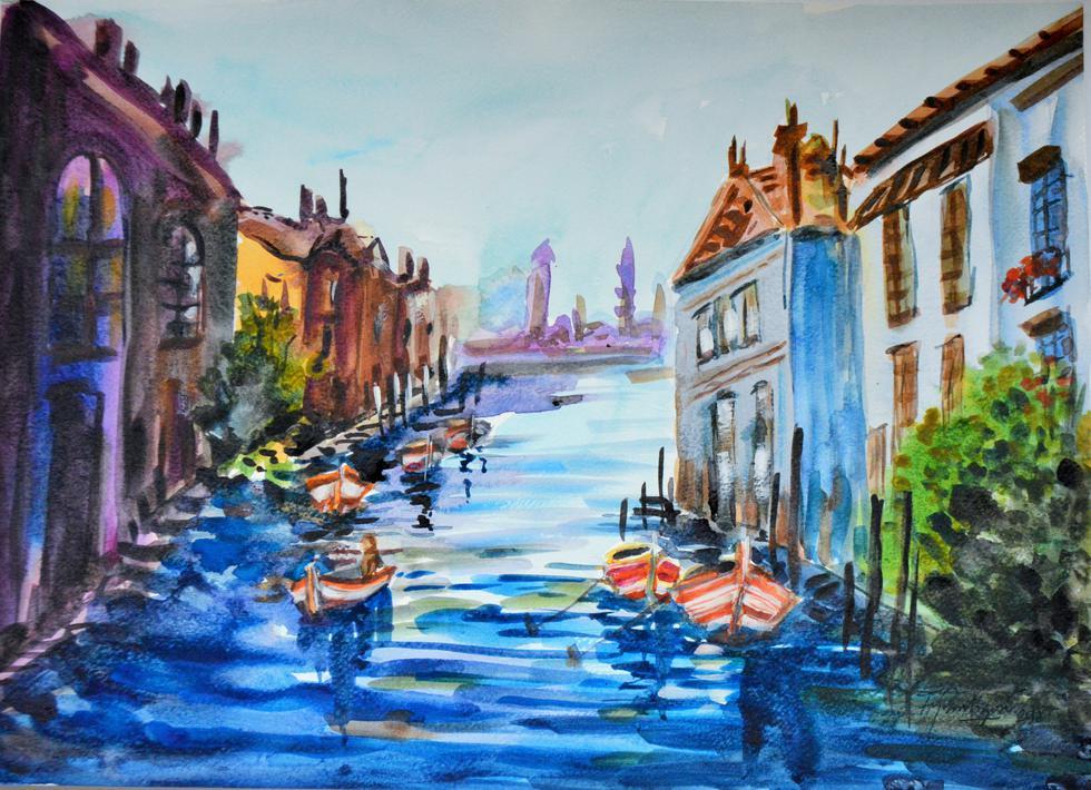 Exposición 'Urbano-Paisaje-Mar' va hasta el 6 de octubre (Difusión).