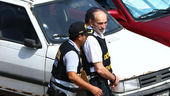 Yehude Simon cumple 10 días de detención preliminar por el caso Odebrecht. (Foto: Hugo Curotto / GEC)