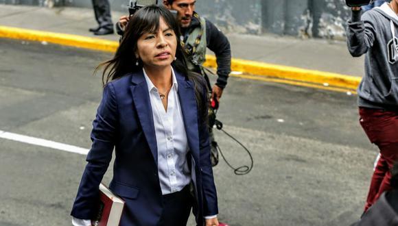 Giulliana Loza señaló que el testimonio del empresario Dionisio Romero ratifica lo declarado por Jaime Yoshiyama sobre aportes nacionales. (Foto: Andina)