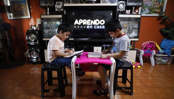 """""""Aprendo en casa"""": UNICEF, Amazon y todos los proveedores de contenido para el programa educativo. (Foto: Minedu)"""