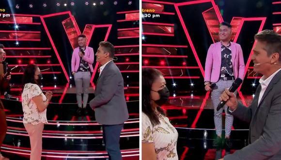 Juan Carlos Fiña cumplió el sueño de adolescencia de su madre, quien conoció a Guillermo Dávila. (Foto: Captura YouTube)