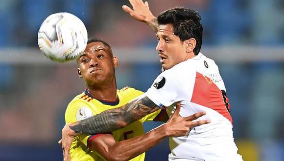 Perú y Colombia definirán el tercer puesto de la Copa América 2021. (Foto: AFP)