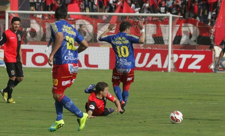 Los dirigidos por Franco Navarro se quedaron a un gol de forzar los penales. (Heiner Aparicio/Peru21)