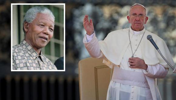 Papa lamentó muerte de Nelson Mandela. (Agencias)