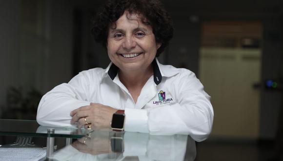 Susel Paredes se inscribió como militante del Partido Morado. (GEC)