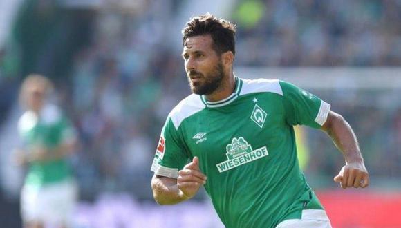 Claudio Pizarro es el máximo goleador extranjero de la Bundesliga. (Foto: EFE)