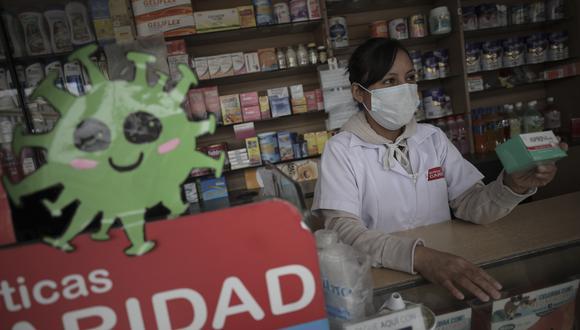 """Zeballos afirmó """"no estamos en una circunstancia normal"""", por lo que no se puede permitir ningún tipo de aprovechamiento por parte de farmacias o boticas. (Foto: GEC)"""