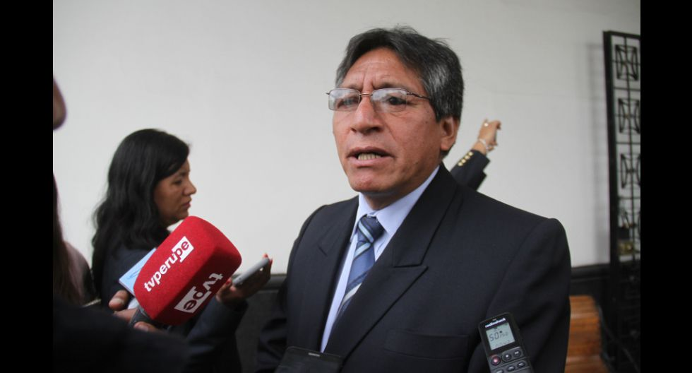 Presidente de Junta de Fiscales, Franklin Tomy, anuncia investigación a fiscales por aceptar penas benignas a delincuentes