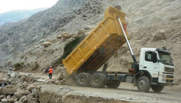 CAMINANDO. Hay mayor avance del plan fiscal en mantenimiento de carreteras. (Difusión)