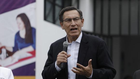 El presidente Martín Vizcarra aseguró que el Gobierno trabaja por la igualdad y en contra de la discriminación. (Foto: Antonhy Niño de Guzmán/GEC)