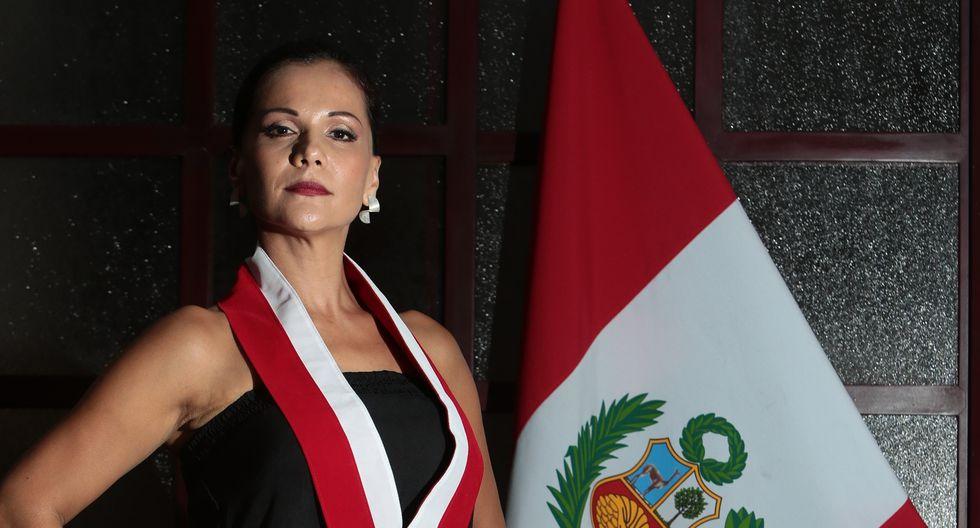 Mónica Sánchez pidió a los internautas tomar las calles y reclamar en favor de la justicia. Pero su pedido no tuvo éxito. (Foto: El Comercio)