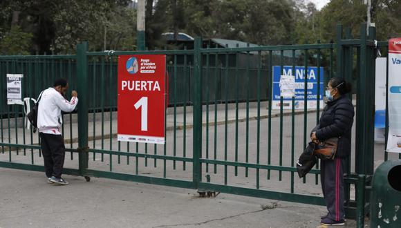 El vacunatorio de Campo de Marte suspendió la inmunización contra el COVID-19 hasta este domingo. (Foto: Cesar Bueno / @photo.gec)