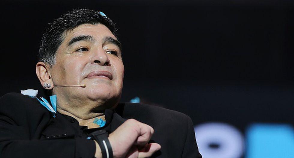 Diego Armando Maradona fue campeón del mundo con Argentina en 1986. (Getty Images)