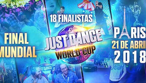 La final del torneo mundial de baile de Ubisoft se desarrollará en París este 21 de abril.