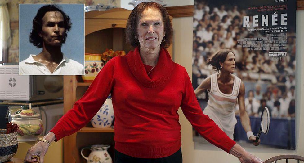 Renée Richards siempre fue apasionada del tenis. Antes se llamaba Richard Raskin. (Reuters)