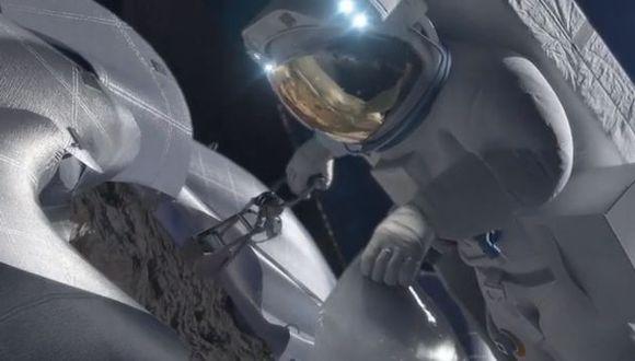 Boceto del proyecto de la NASA para envío de astronautas a asteroides. (NASAgovVideo en YouTube)