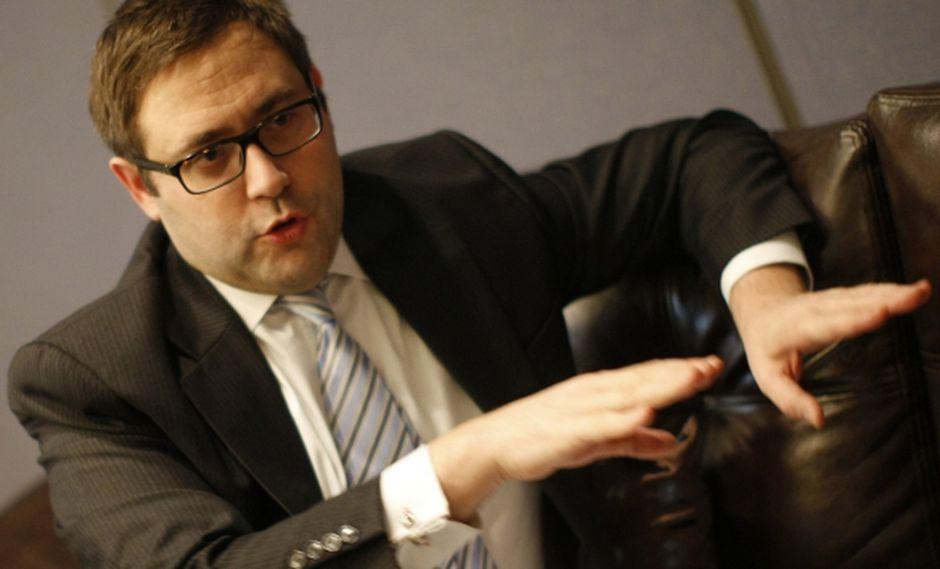Dominic Schnider, jefe de Commodities del banco UBS. (David Vexelman)