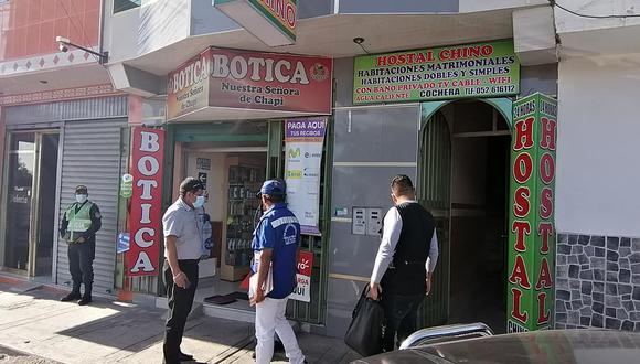 Tacna: intervienen hospedajes por incumplir con medidas de bioseguridad (Foto: Municipalidad Provincial Tacna)