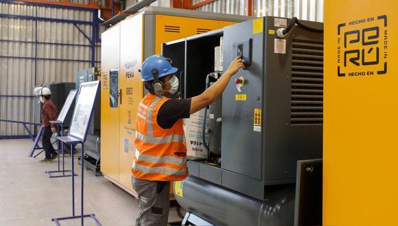 Ica: la planta de oxígeno tiene una capacidad de producción de 480 m3 por día, equivalente a 48 balones. (Foto: Difusión)