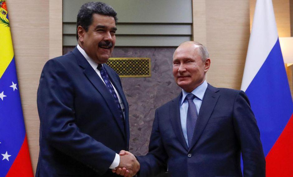 Maduro visitó Moscú y se reunió con Putin en diciembre pasado.(Foto: EFE)