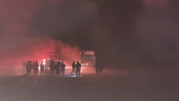 La Libertad: una organización criminal dedicada al cobro de cupos a los transportistas estaría detrás de reciente atentado.