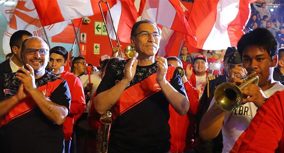 Martín Vizcarra anunció nuevos aumentos salariales para los maestros. (Foto: Agencia Andina)