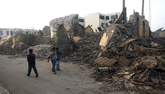 Investigadores señalaron que no ocurriría otro terremoto en Ica hasta dentro de 80 años. (USI)