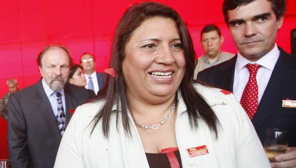 De salida. Alcaldesa Leonor Chumbimune cuestiona acciones de comuna limeña en su distrito. (Rochi León)