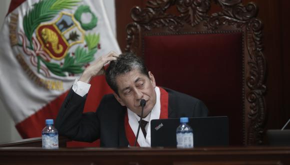 Eloy Espinosa-Saldaña cuestionó fallo en mayoría del TC sobre la vacancia presidencial por incapacidad moral permanente. (Foto: Mario Zapata / GEC)