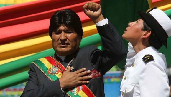 SE CREE FIJO. Evo Morales quiere seguirle los pasos a su exmentor Hugo Chávez al aferrarse al poder. (EFE)