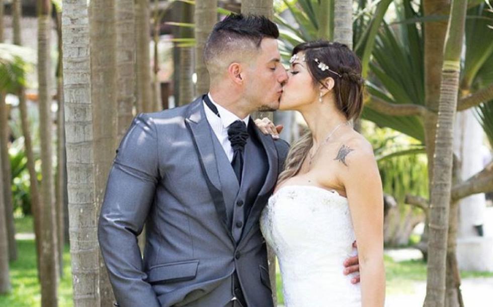 La pareja se casó en diciembre del 2016. (rodrigovalle_pro)