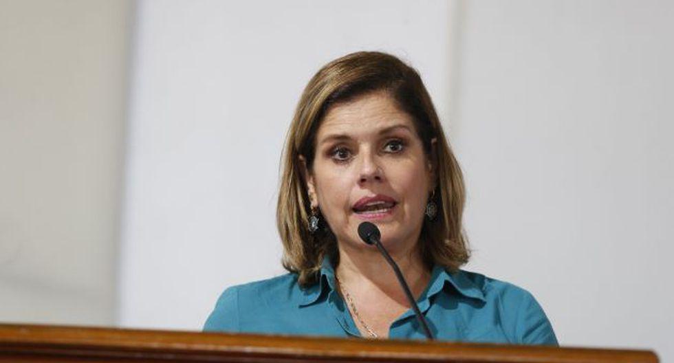 Mercedez Aráoz se presentó en evento organizado por la Cámara de Comercio de Lima. (Atoq Ramón)