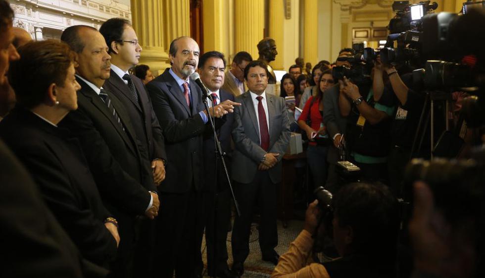 Congreso: Oposición rechazó expresiones de primer ministro Pedro Cateriano. (Luis Gonzales)
