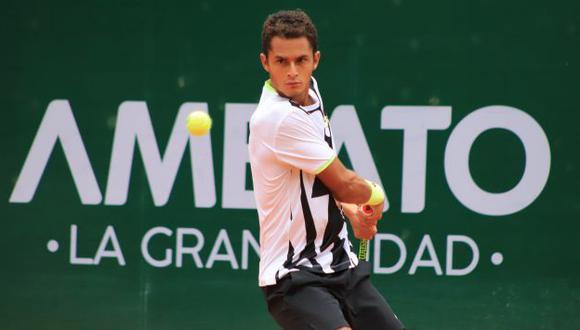 Juan Pablo Varillas perdió la final del ATP Challenger de Ambato ante Thiago Tirante. (Foto: KC Tenis)