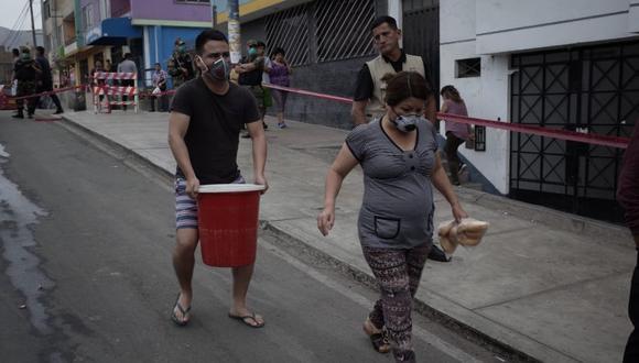 """Luego de terminados los trabajos de limpieza, viene un """"escenario postcrisis"""", indicó el alcalde. (Foto: El Comercio)"""