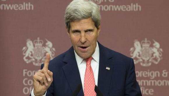 ULTIMÁTUM. John Kerry le dio una semana de plazo a Siria para que entregue armas químicas. (Reuters)