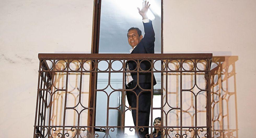 A la carga. Tras recuperar su libertad, ex presidente Humala sostuvo que demostrará su inocencia. (MarioZapata/Perú21)