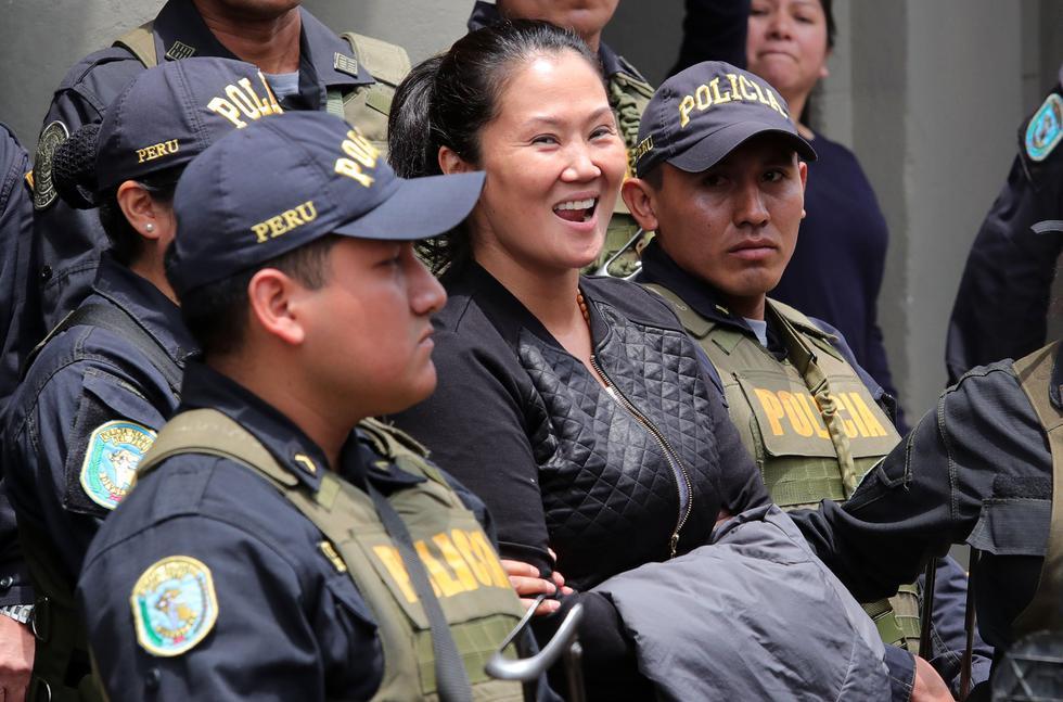 La Sala Penal de Apelaciones programó para este sábado 15 de diciembre la audiencia en la cual se evaluará la apelación que presentó Keiko Fujimori.(Foto: GEC)