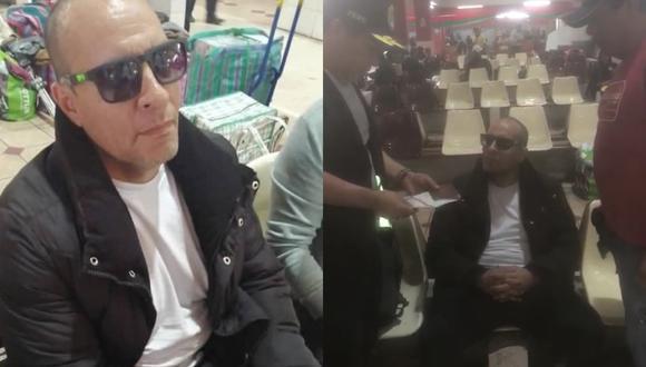Adolfo Bazán intentó sobornar a los policías para que no lo capturen en Tacna. (Foto: PNP)