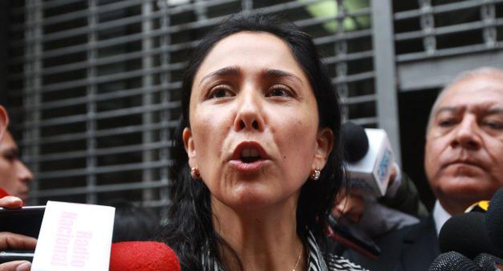 Nadine Heredia fue citada para este lunes 12 de junio a la Comisión Lava Jato. (USI)