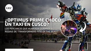 Transformers en Cusco: los percances que tuvo Optimus Prime durante las grabaciones